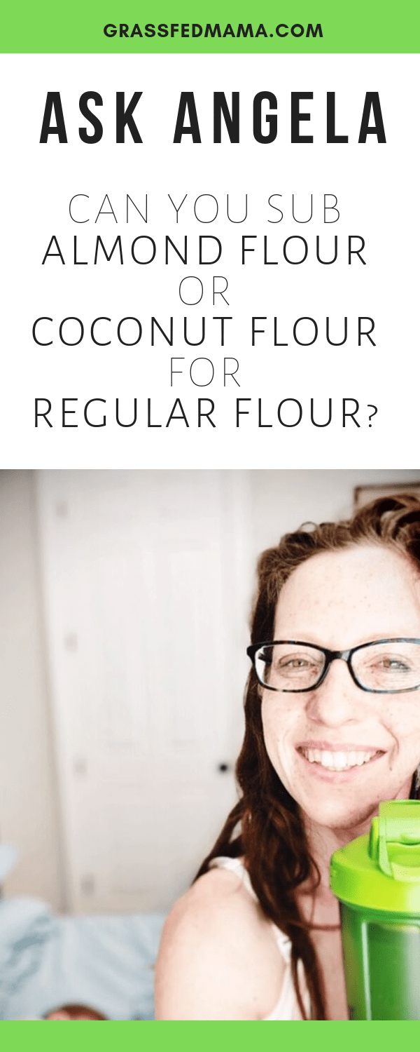 Can You Sub Almond Flour or Coconut Flour for Regular Flour?