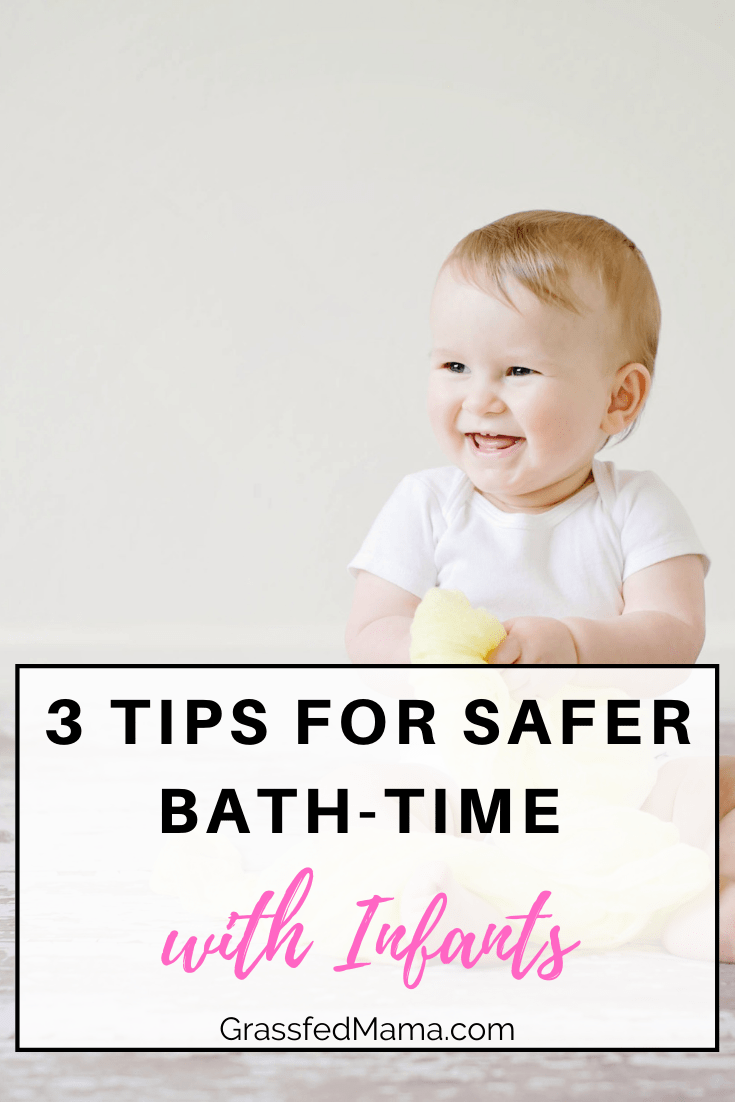 3 Tips for Safer Bath-Time with Infants