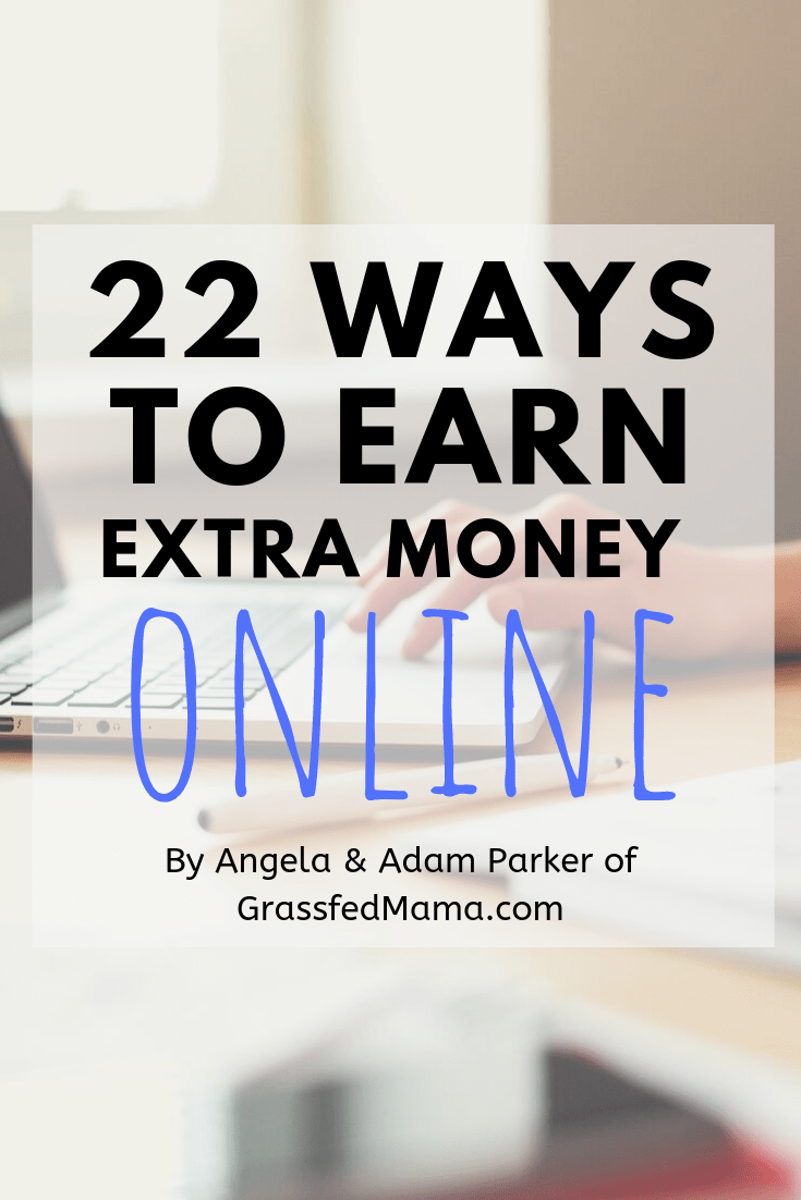 22 Ways To Earn Extra Money Online