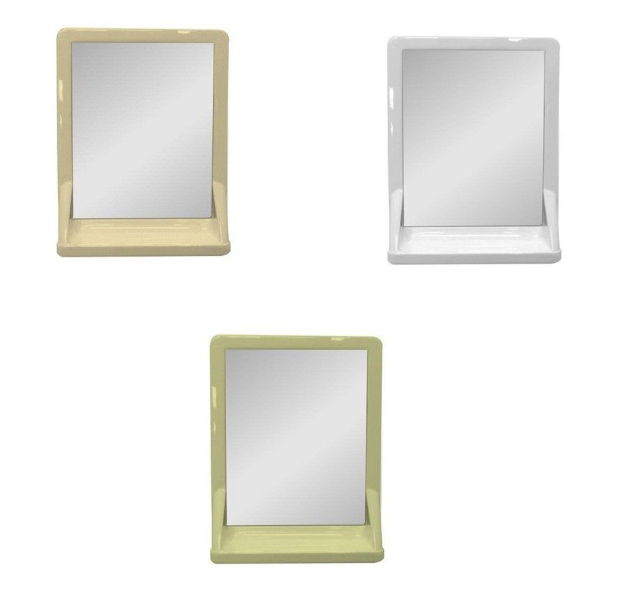 30 Simple Bathroom Mirrors With Shelf