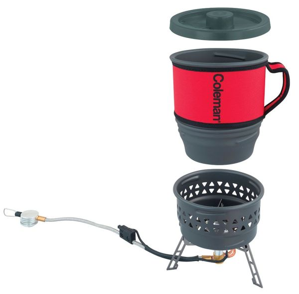 Coleman Fyrestorm Pcs Backpacking Stove Outdoor Camping Cooking Equipment - Grasshopper Leisure
