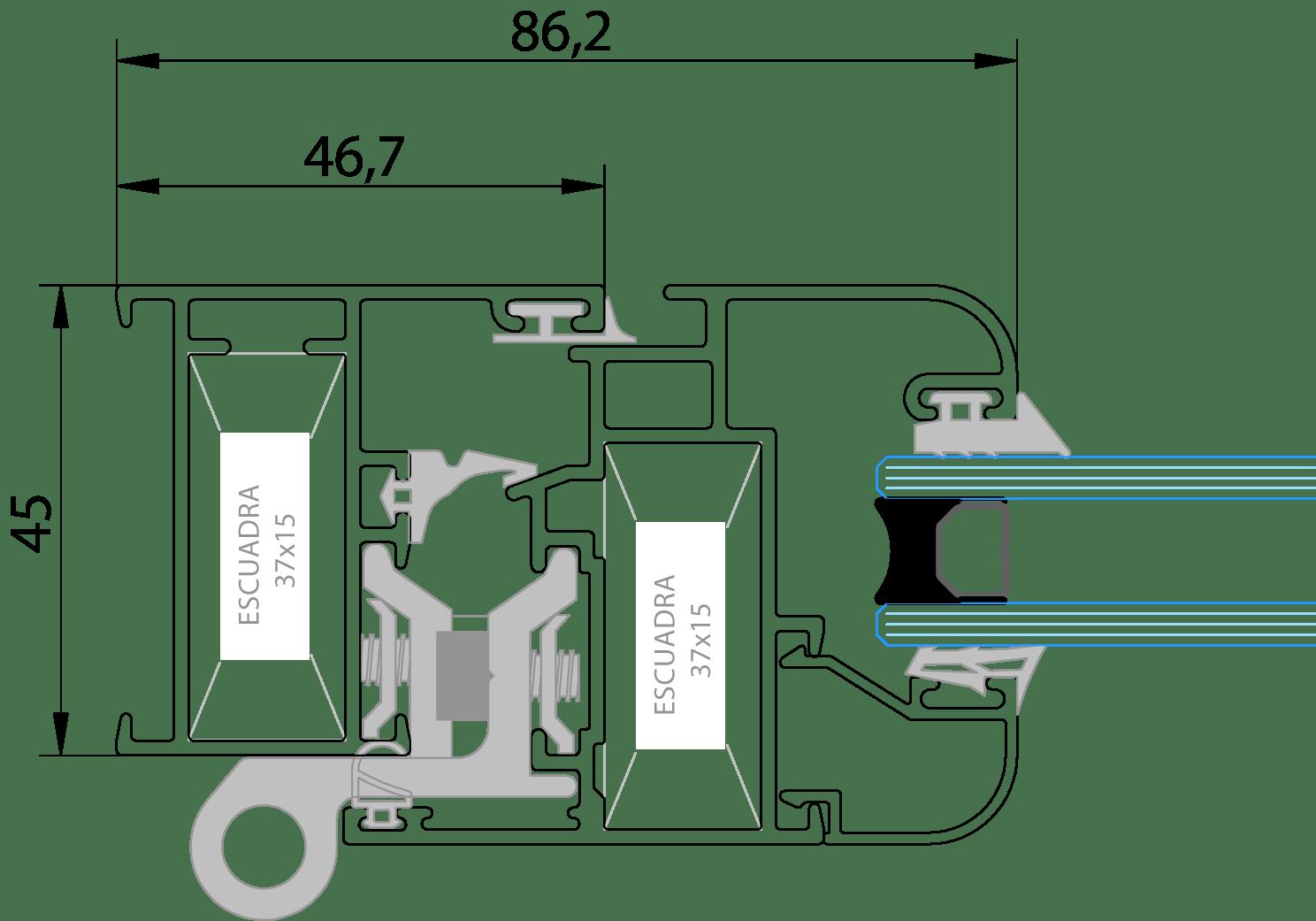 Serie EuroPractic 45mm