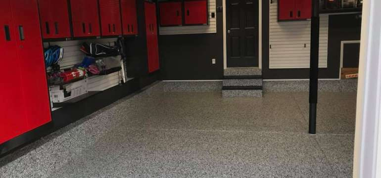 Garage Flooring And Garage Organization System