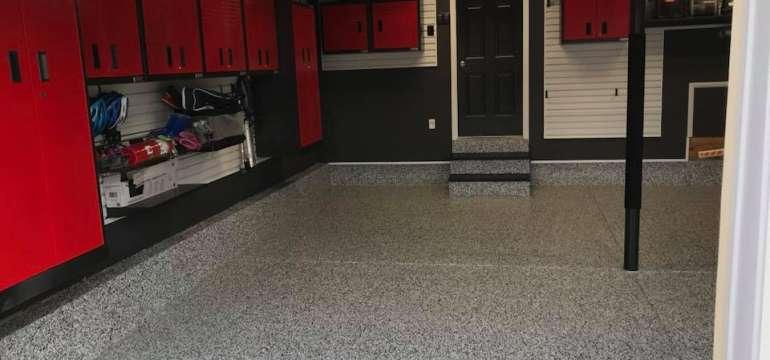 Garage Red Cabinets