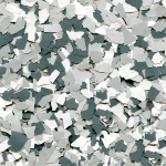 Garage Floor Color Flakes Slate Stone Color
