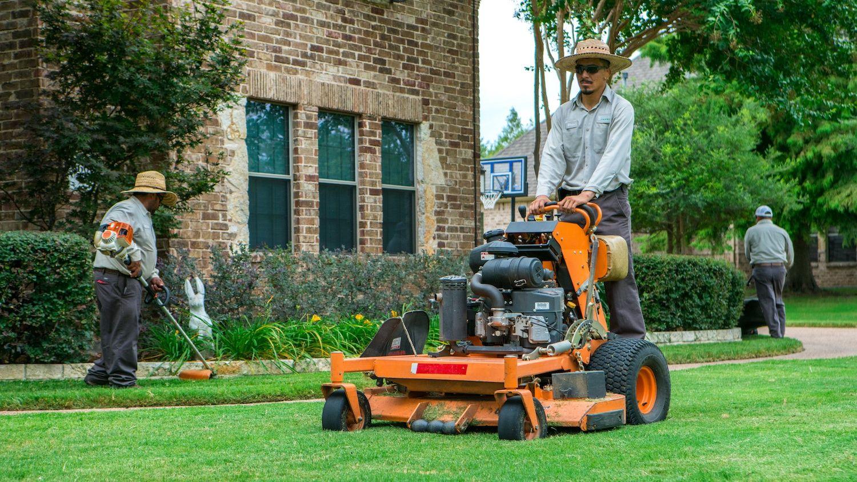 landscaping job