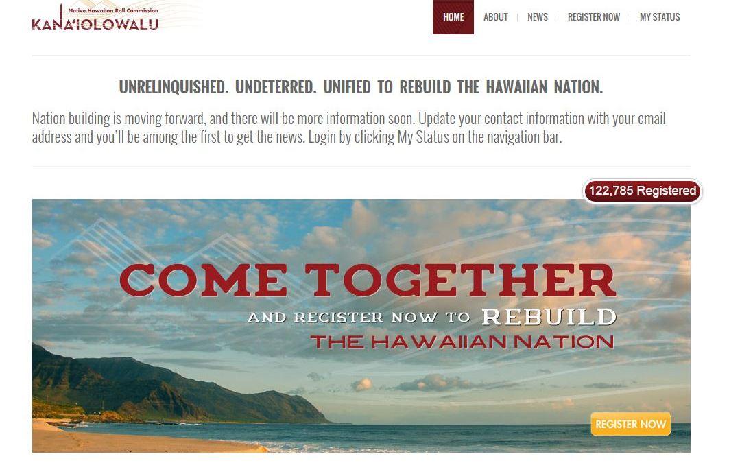 Grassroot Institute Posts Native Hawaiian Roll Online