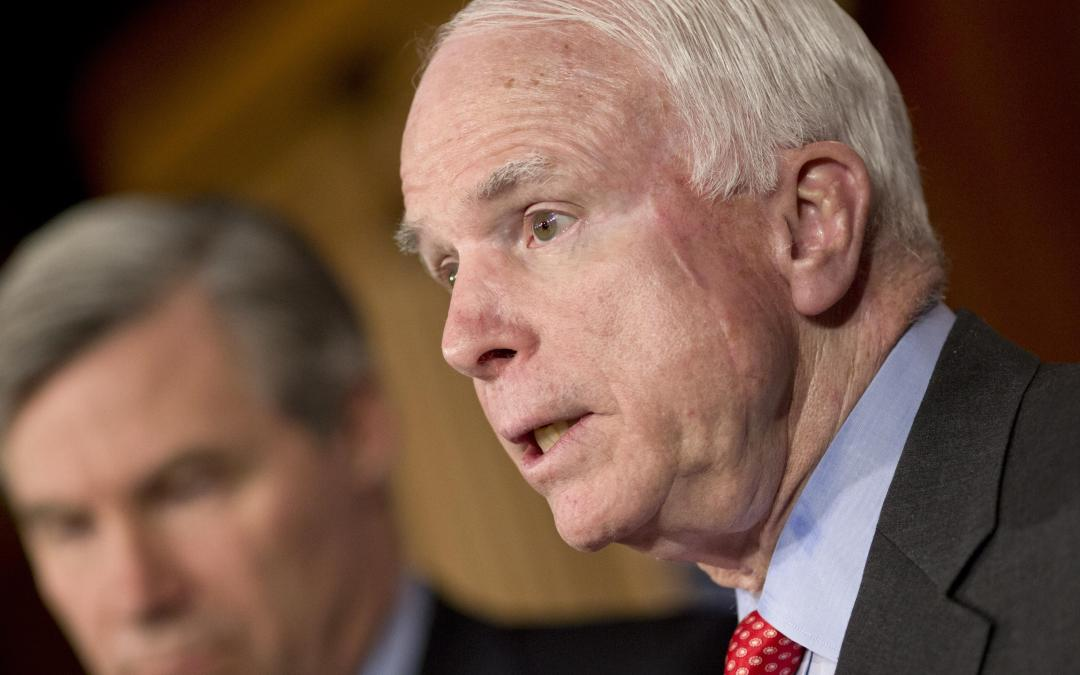 McCain strikes at Jones Act build requirement to reform U.S. energy policy