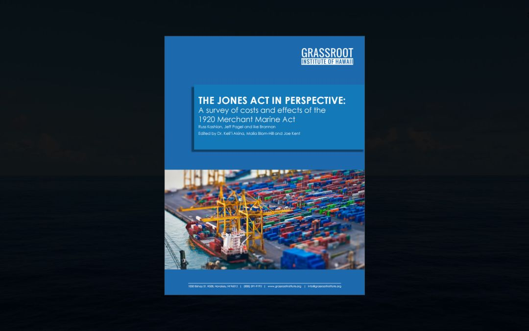 THE JONES ACT IN PERSPECTIVE: A survey of the costs and effects of the 1920 Merchant Marine Act