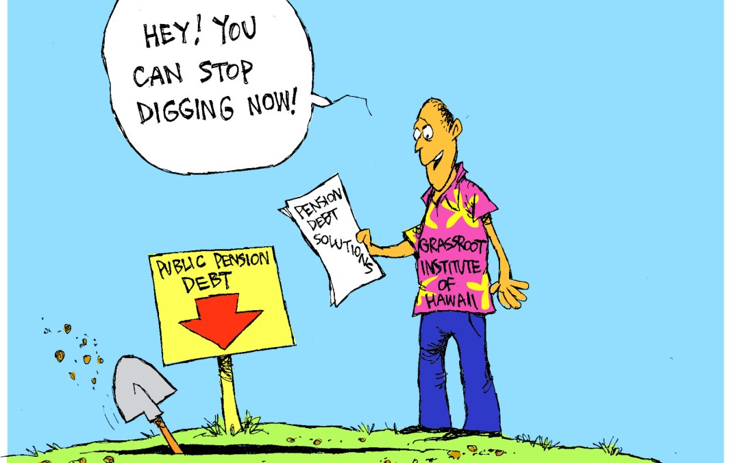 Stop digging deeper pension debt
