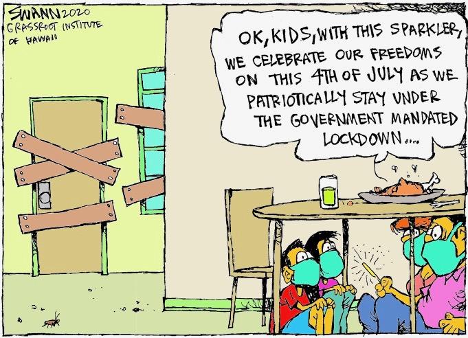 Happy Fourth of July, despite the irony