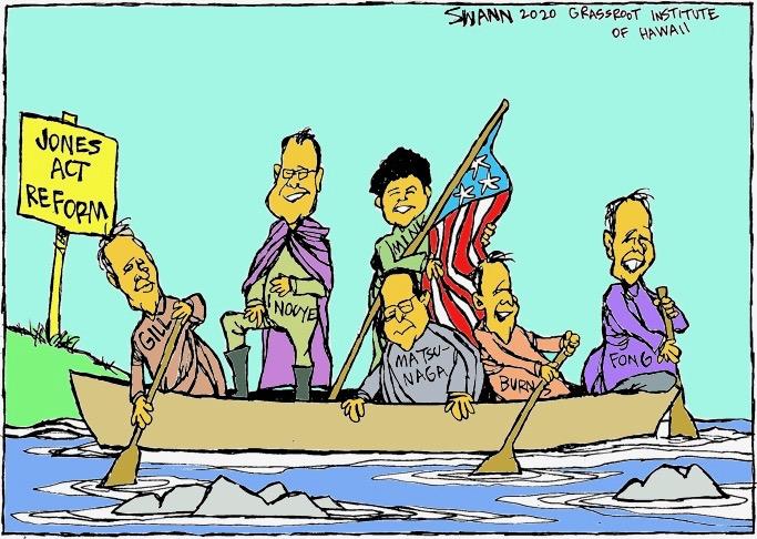 Remember when U.S. Sen. Daniel Inouye  led the charge for Jones Act reform?