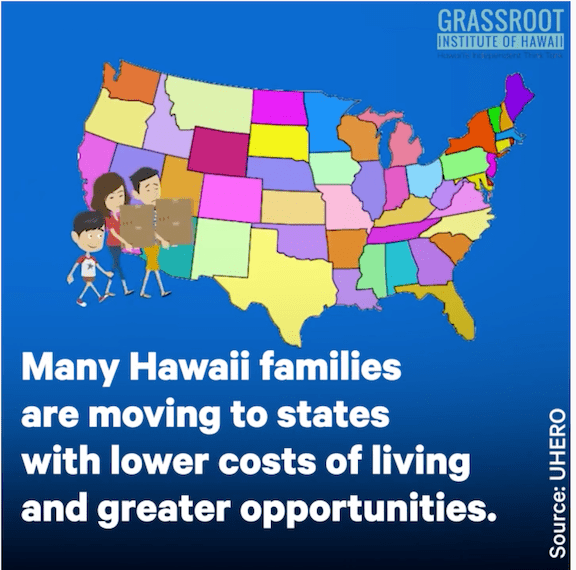 Are you planning to leave Hawaii, too?