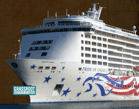 Akina and Helton discuss law limiting ocean cruises in Hawaii