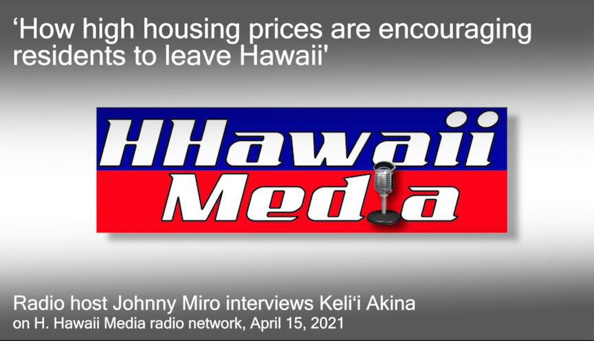 How high housing prices are encouraging residents to leave Hawaii