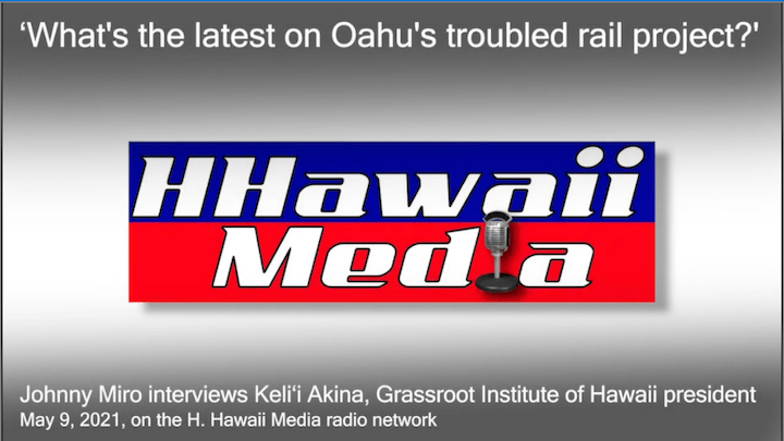What's the latest on Oahu's troubled rail project?