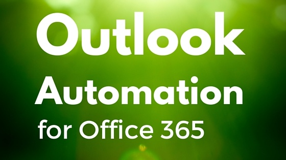 outlook automation