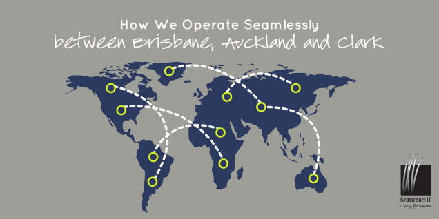How we operate seamlessly between Brisbane, Auckland and Clark