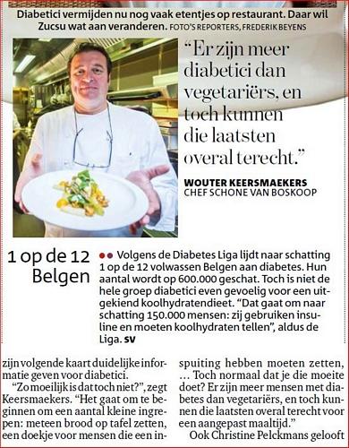 Gazet van Antwerpen 4 maart 2014