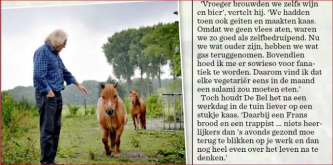 Marc de Bel, Het Nieuwsblad 23 augustus 2014