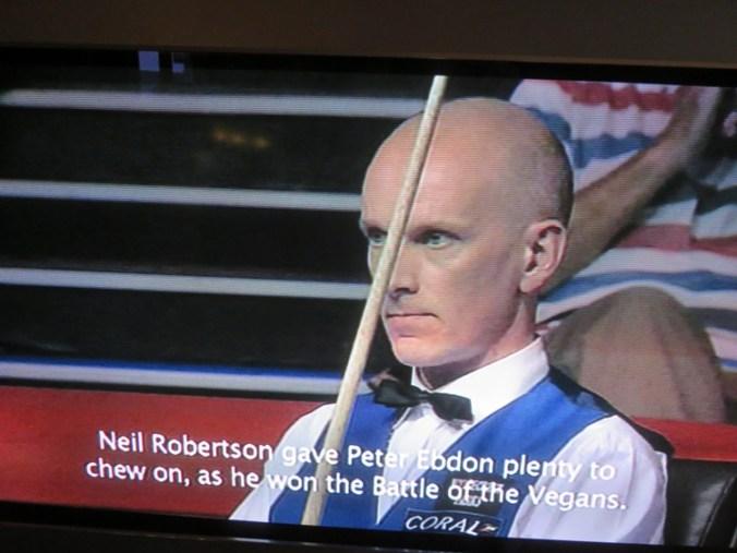 UK championship 2014, Peter Ebdon - Neil Robertson