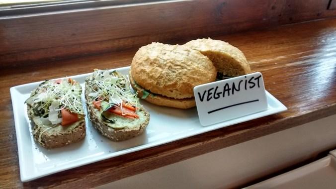 Broodje veganist