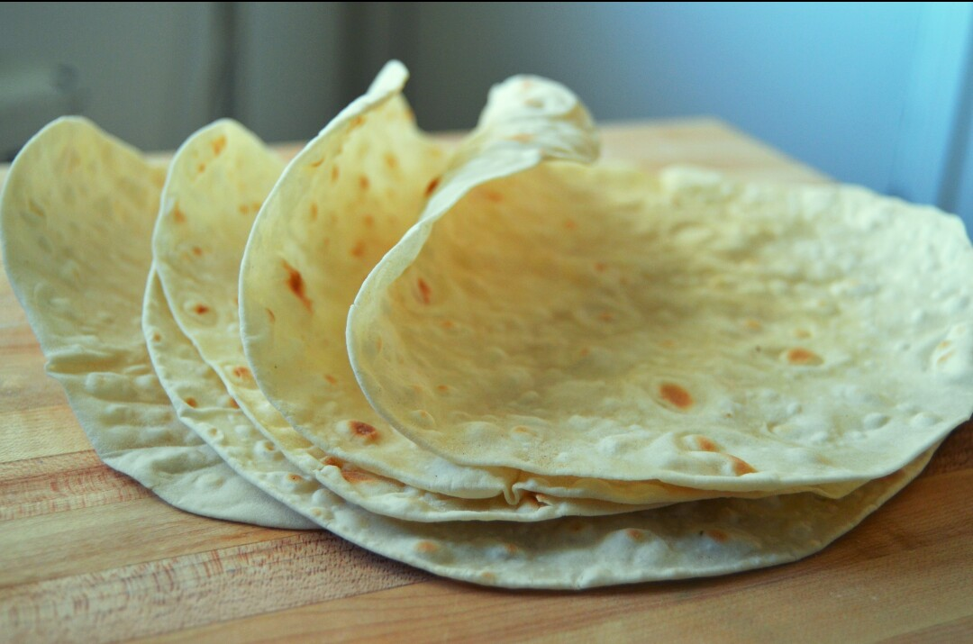 Traditional Armenian Lavash Bread  Grated Nutmeg