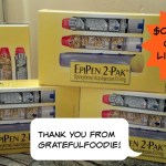 Wahoooo!  EpiPen $0 Co-pay Extended!
