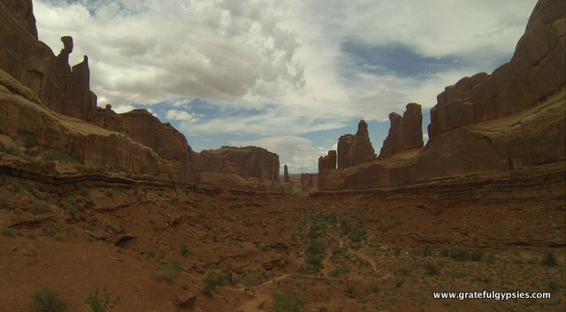 Beautiful scenery abounds in Moab.