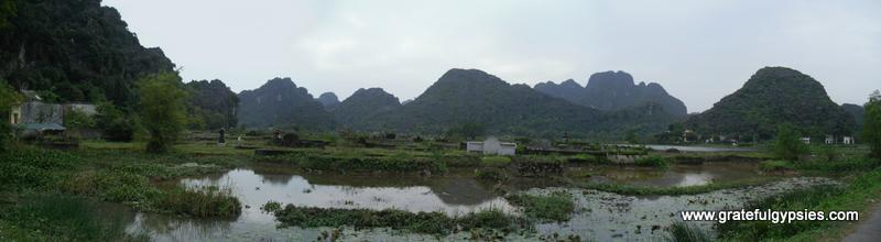 Scenery around the temples out in the countryside.