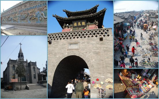 Some scenes of the ancient city, which is well preserved.