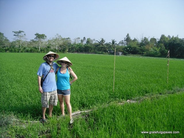 We'd last about 1/2 a day as Vietnamese farmers.