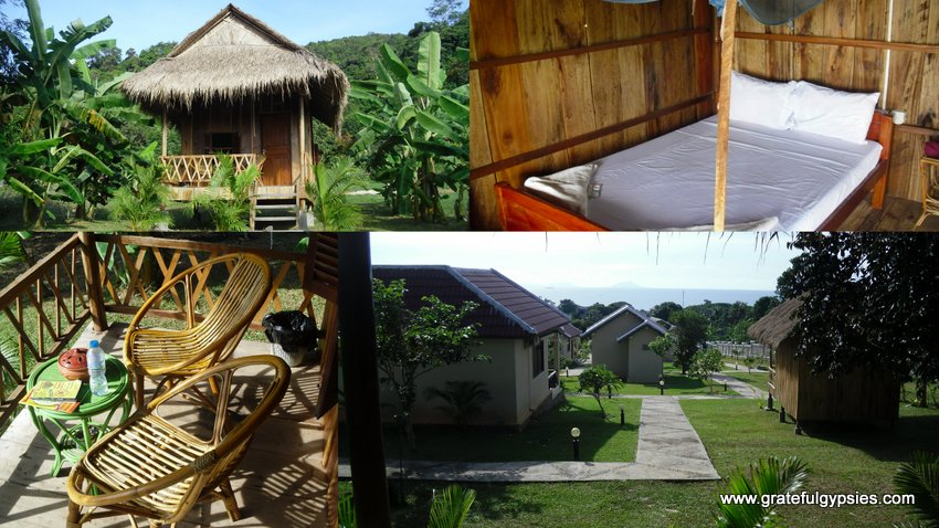 Our awesome bungalow.