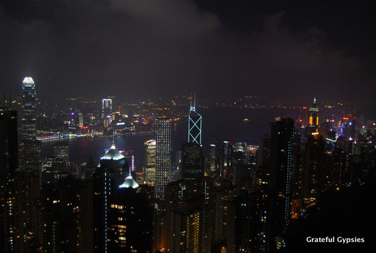 The Peak in Hong Kong.