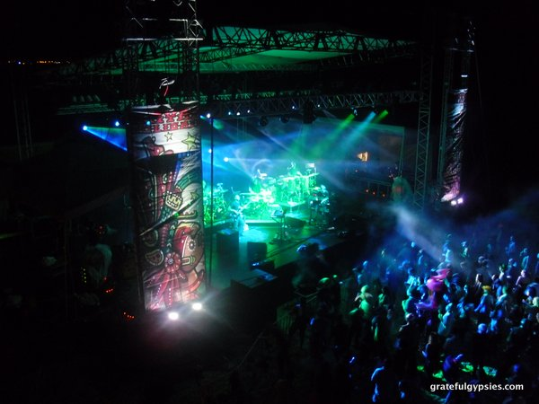 STS9 on the beach in Mexico.