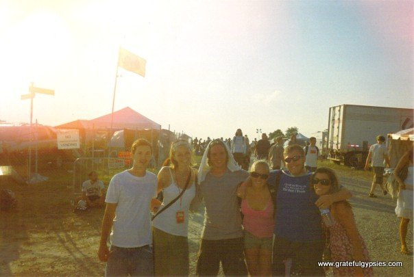 My crew at All Good 2007