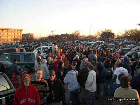 My first Phish show in '03.