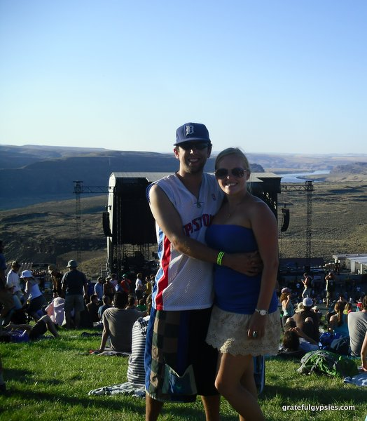 Seeing Phish at the Gorge in '11.