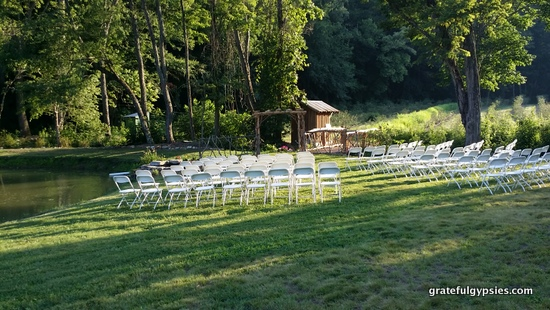 An awesome location for a hippie wedding!