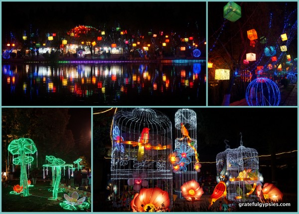 Lantern Festival at the park.