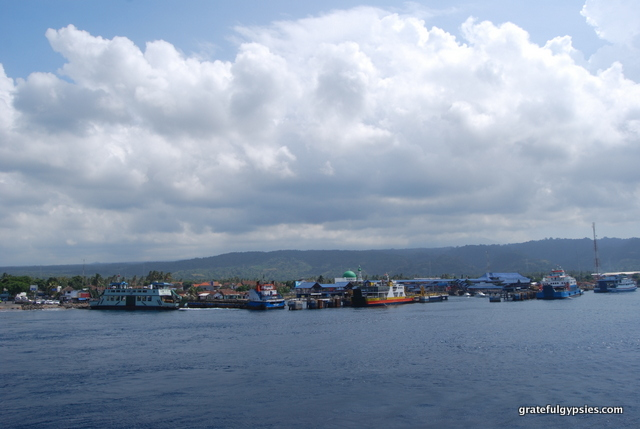Java to Bali ferry.
