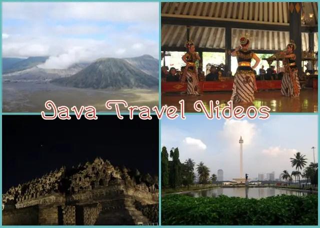 Java travel videos.