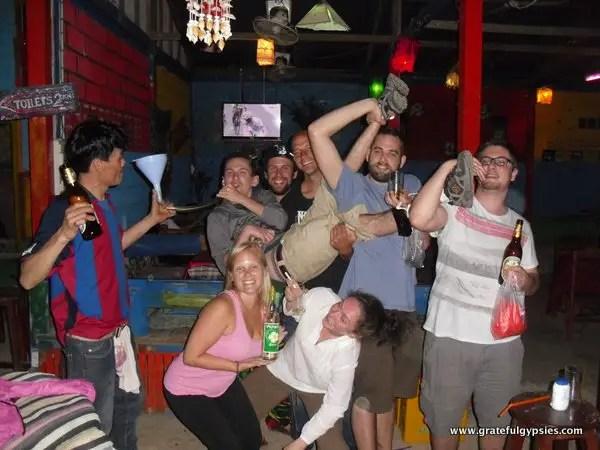 Vang Vieng nightlife