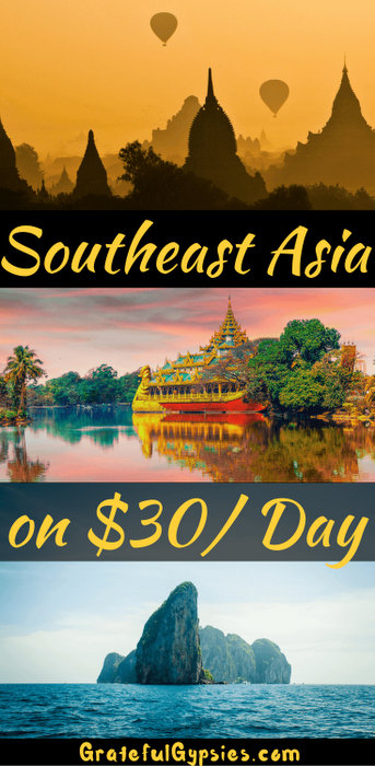 Southeast Asia $30 a day
