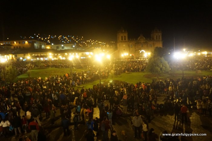 Easter in Cusco