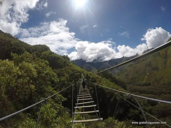 Jungle Trek to Machu Picchu zip line