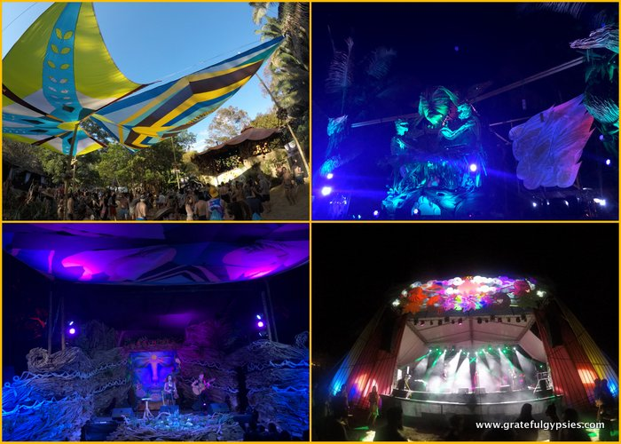 Envision Festival stages