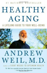 Healthy aging book cover.