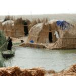Iraq, huts, water