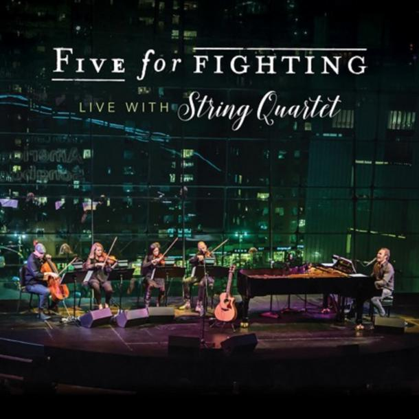 Five For Fighting Releasing New Album With String Quartet